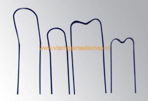 Clips, meerdere modellen, worden gebruikt bij de Smart Tie Tool